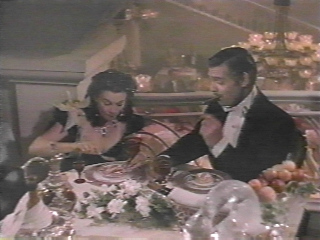 scarlett and rhett eating